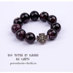 Православные четки из Граната на 10 зерен (перстные)